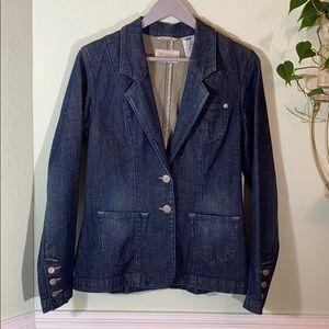 Levi's jeans denim blazer women's size M